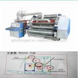 Linha de produção do cartão e máquina onduladas da caixa
