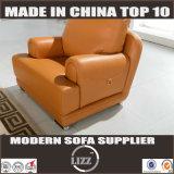 現代L形の革ソファーはセットした(Lz706)