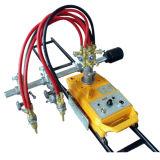 Círculo recta y la línea de gas de la llama máquina de corte del cortador