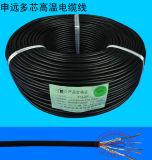 Cable defendido multifilar del aislante del Teflon de la envoltura del silicón de Ygzpf 4*0.5