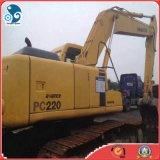 Pintura original usadas Komatsu PC220LC-6 excavadora