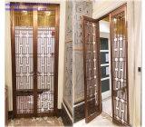 Дверь металла перегородки рассекателя комнаты экрана нержавеющей стали гостиницы крытая