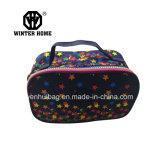 Colorer le sac lavé imperméable à l'eau de produit de beauté de dames de tissu d'étoiles