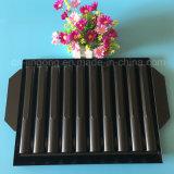 Het zwarte PS Dienblad van de Blaar voor Dienblad van de Blaar van het Product van de Zorg van de Huid het Vastgestelde Plastic