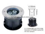 Neu! Garantie LED des Verkaufsschlager-Fabrik-Preis-3years unter Bodenlicht 7W