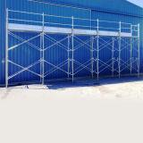 Utiliza la construcción andamios de aluminio andamios móviles