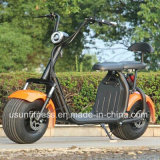 Scooters eléctricas verde poderosa com 01- 60V 1500watt Motor sem escovas