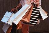 Fabricante de alta calidad personalizado de un bolso de mano de la bolsa de compras de papel