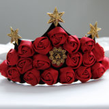 رخيصة [شنس] [فكتوري بريس] [أرتيفيسل فلوور] تاج حمراء زهرة إكليل