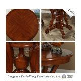 Круглый стол из дерева для отеля (X202)