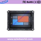 P1.56, P1.66, P1.92, Innenhoher Definition P2.5 LED-Bildschirmanzeige-Zeichen-Mietvorstand mit 400X300mm dem druckgießenschrank für Konferenz