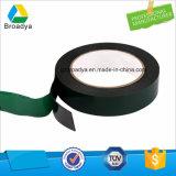 Cinta echada a un lado doble adhesiva de acrílico solvente fuerte de la espuma del PE (BY1810)