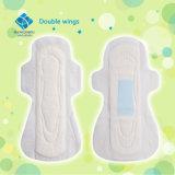 Dame de Lourdes serviette sanitaire du flux menstruel maxi serviettes menstruel ailé absorbant