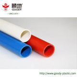 Tubo eléctrico del conducto del PVC con de poca potencia medio pesado hecha en China
