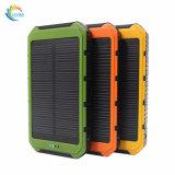 Удобное портативное зарядное устройство солнечной энергии банк 8000Мач
