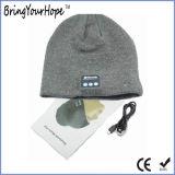 Sombrero sin hilos eliminado Knit de la música de Bluetooth (XH-BH-001)
