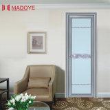 Modèle en aluminium de porte de salle de bains de tissu pour rideaux des prix bon marché