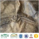 Tela de tapicería bronceada del ante para el sofá