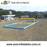 Campo al aire libre inflable del voleibol, voleibol inflable de la playa con precio barato