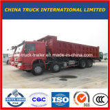 De gloednieuwe 8X4 12 Vrachtwagen van de Stortplaats van de Kipper van Wielen HOWO 50t voor Verkoop