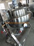 Elevadores eléctricos de aquecimento a vapor chaleira para cozinhar com camisa de Inclinação