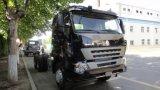 Sinotruk HOWO A7 6X4 원동기 트랙터 트럭 420HP 트레일러 헤드