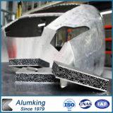 Bâtiment écologique et la décoration matériau aluminium panneaux de mousse
