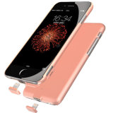 プラスiPhone6/6s 7/7のための無線充電器の蓄電池カバーのケース