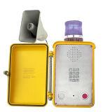 Telefone marinho Knsp-15 Túnel impermeável com altifalante de intercomunicador