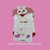 Fabricante do Tubo Menina Animal Cartoon Sock para crianças