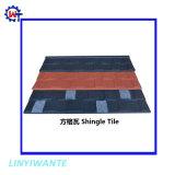 Batir el vendedor de materiales de construcción de acero recubierto de piedra de Shingle Teja