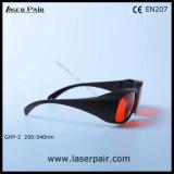 Alto nivel de la protección de gafas de seguridad de los anteojos de seguridad de laser de 200-540nm Ghp-2 de Laserpair