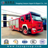 Sinotruk HOWO mini Emergency Feuerbekämpfung-LKW für Verkauf