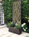 Revestimiento PVD de alta calidad decorativa de acero inoxidable pantalla plegable y separador de ambientes