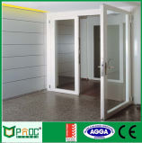 Portello e finestra di alluminio della stoffa per tendine