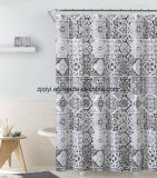 Водонепроницаемый материал PEVA пользовательских печатных душ шторки