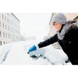 カスタマイズされたロゴの暖かい防護手袋が付いているプラスチック氷のスクレーパー