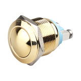 19мм нормально разомкнутый кнопочный переключатель водонепроницаемый из нержавеющей стали