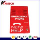 Téléphone raboteux de téléphone public de Kntech Knzd-38 de téléphone de réseau IP