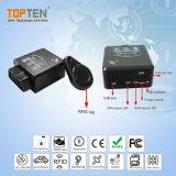 Tempo reale che segue l'allarme automatico di GPS OBD con sistema diagnostico a distanza Tk228-Ez