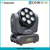 7*15W RGBW DMX LED kleines bewegliches Hauptlicht für Disco