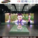 スクリーンの屋内LED表示を広告するP6フルカラーLED