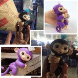 크리스마스 선물을%s 지능적인 장난감 대화식 핑거 아기 원숭이 행복한 원숭이
