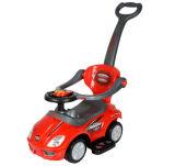 Passeio barato das crianças dos miúdos no carro do brinquedo com punho do impulso
