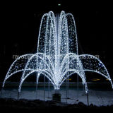 크리스마스는 LED 큰 휴일 점화 훈장을 장식한다