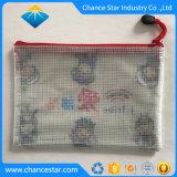 L'impression personnalisée Recyled sac en plastique de la grille à mailles de PVC