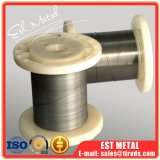 collegare di memoria di figura di 0.3mm ASTM F2063-2012 Nitinol con superficie Polished