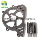 CNC de Delen van de Motor van de Dekking van de Bescherming van het Aluminium voor de Ketting van de Motor Kawasaki