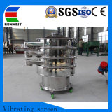 Alta freqüência de vibração de peneiramento pó rotativa Peneira Farinha Ra800