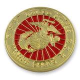 Anniversaire plaqué par or mat célébrant la pièce de monnaie de souvenir